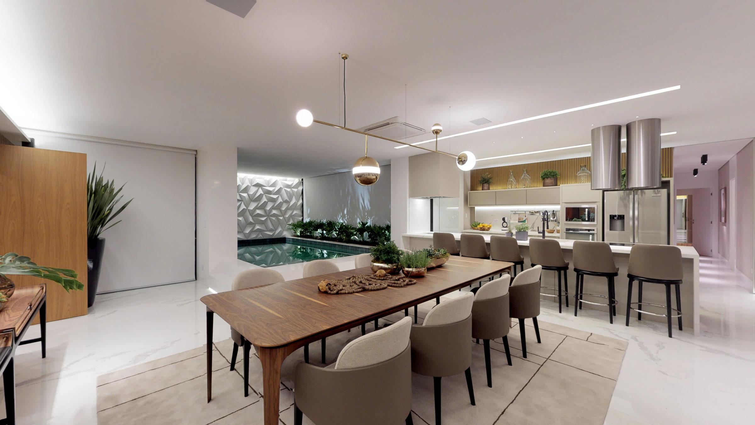 Fotos de Imóvel, Fotografia Imobiliaria interna piscina sala de jantar arquitetura